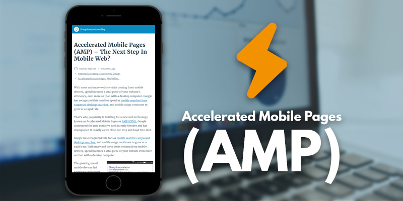 AMP Google mobile pages